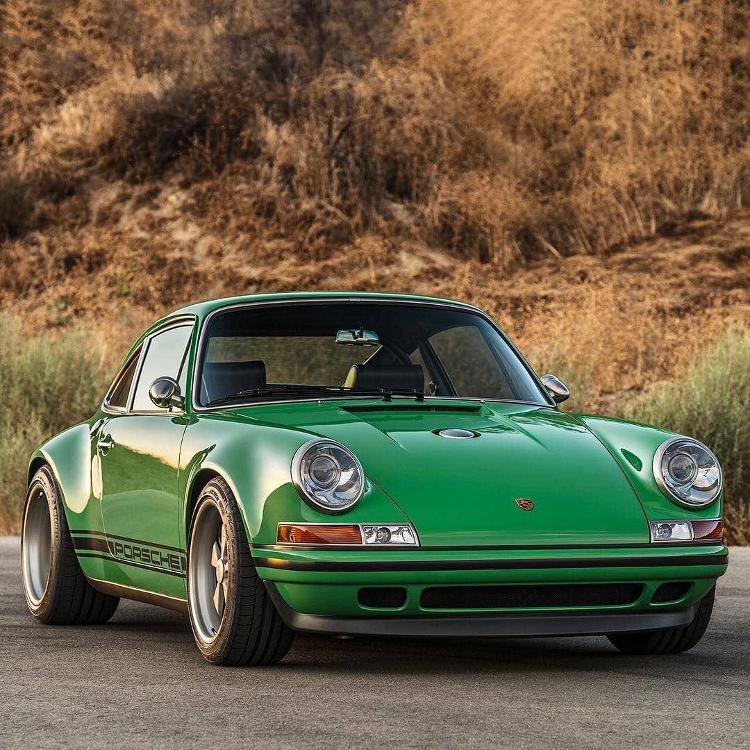 Porsche 911 Classic: Who Would Have Thought A Porsche Would Look So Great Green
