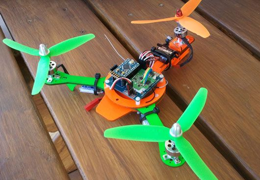 Micro Tricopter frame $21   Cool Stuff!   Pinterest