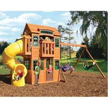 Miraculous Cedar Summit Cedarvalley Lodge Premium Playset From Costco Home Remodeling Inspirations Genioncuboardxyz