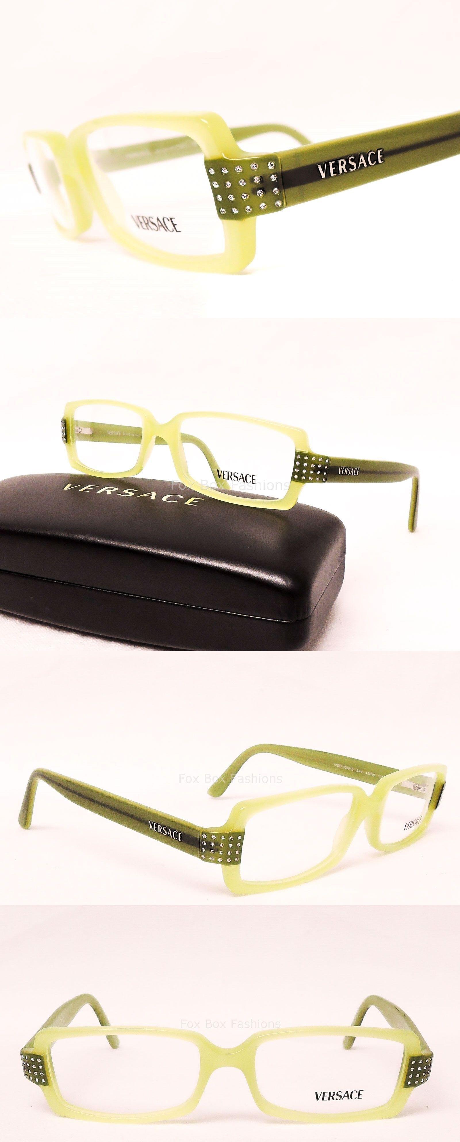 Eyeglass Frames: Versace Mod 3056 B 544 Eyeglasses Optical Frames ...