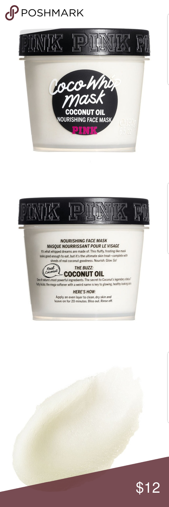 2027db4588061 Victoria's Secret PINK Beauty Coco Whip Face Mask! Brand new in ...