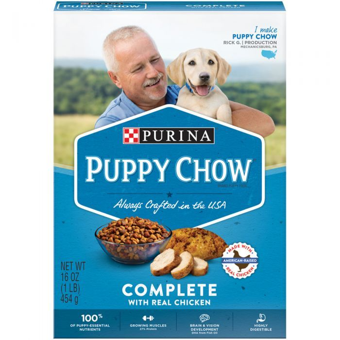 Purina Puppy Chow Complete Complete Puppy Dry Food 16 Oz Box