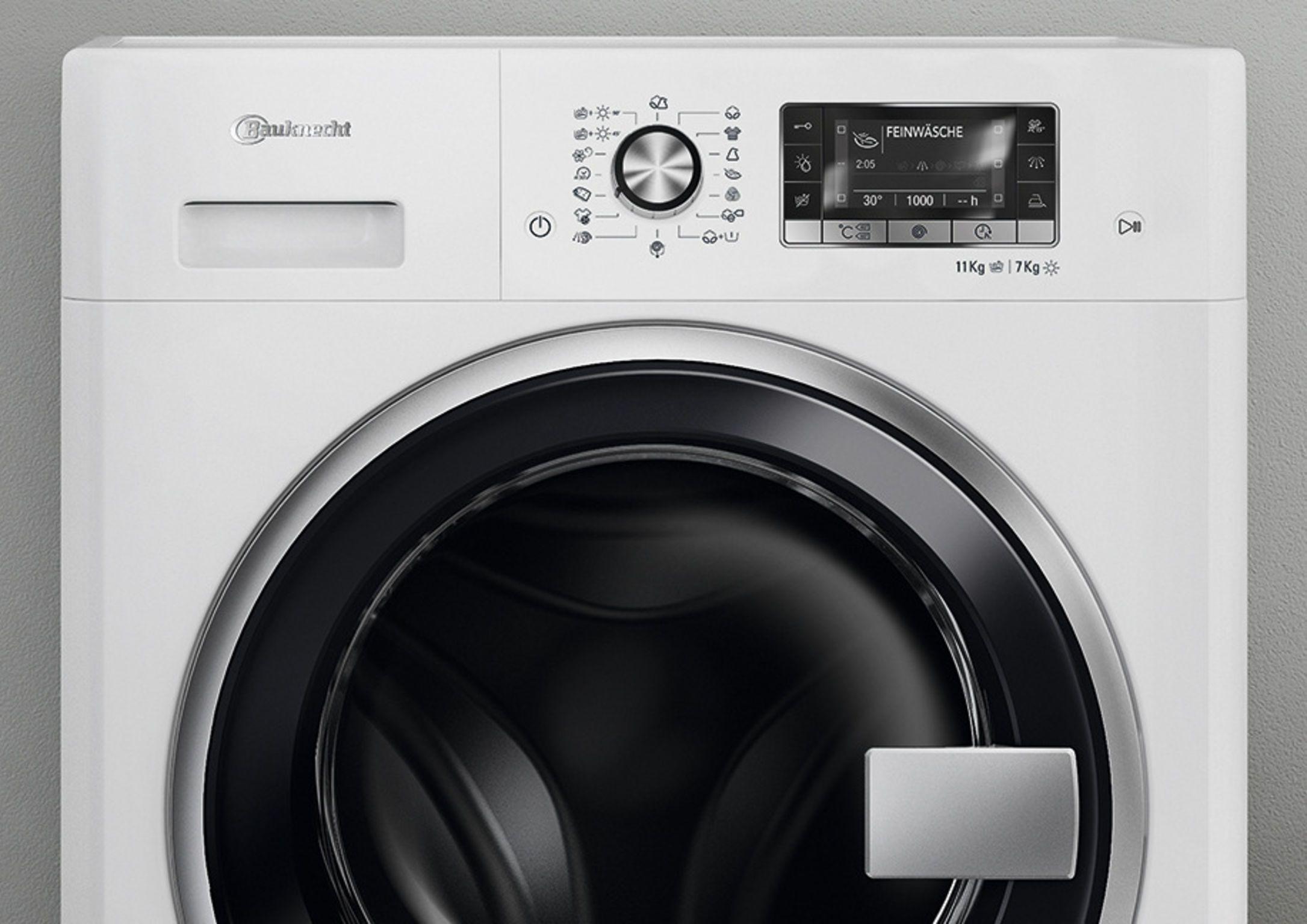 Bauknecht washer dryer