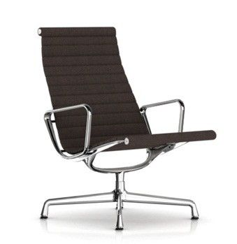 Hermanmiller Eames Aluminum Group Lounge Chair Chair Chair Fabric Upholstered Bar Stools
