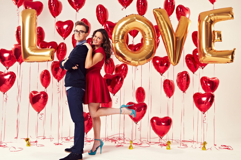 Mr and Mrs Fletcher McFly's Tom and wife Giovanna talk