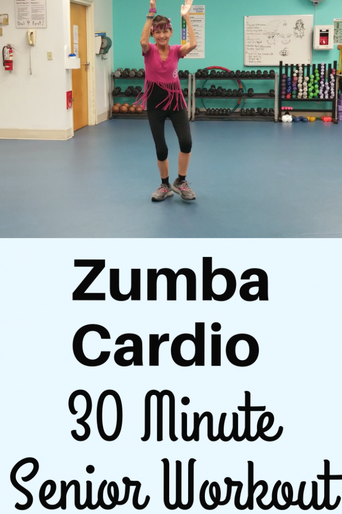 Rev up your metabolism  burn calories and have fun in this 30 minute Zumba cardio workout perfect fo...