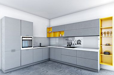 Charmant Mangiamo Modular Kitchen Designs: Buy Modular Kitchen Furniture At Best  Price In India   Pepperfry