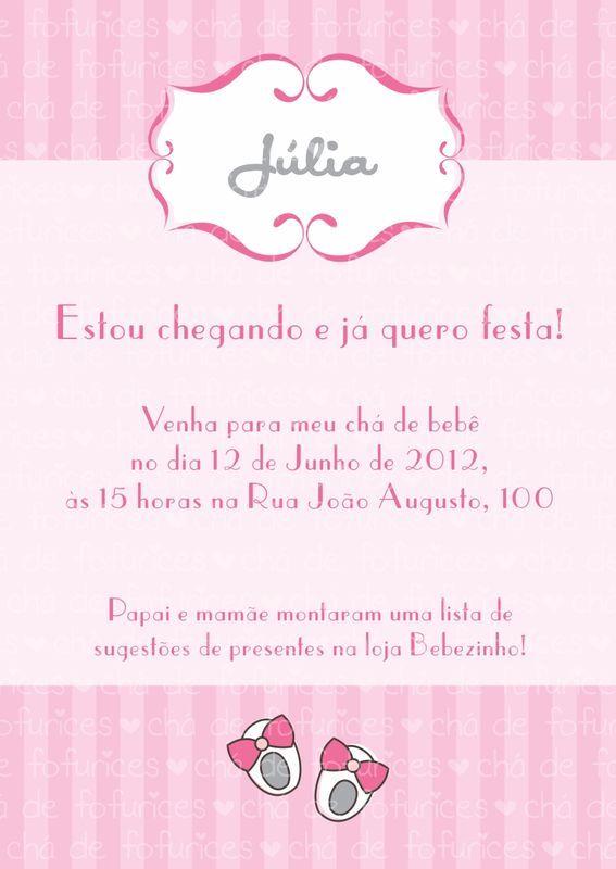 Chá de bebê - Sapatinhos R$20.00