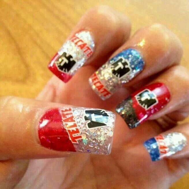 Tecate Nails I\'m sure Angel would soooo love on a girl lmao ...
