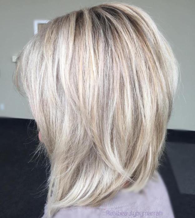 60 Inspiring Long Bob Hairstyles And Haircuts Layered Lob Blonde Layers