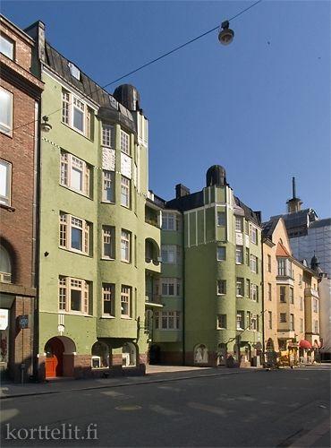 Kalevankatu 11 Korttelit Fi Helsinki