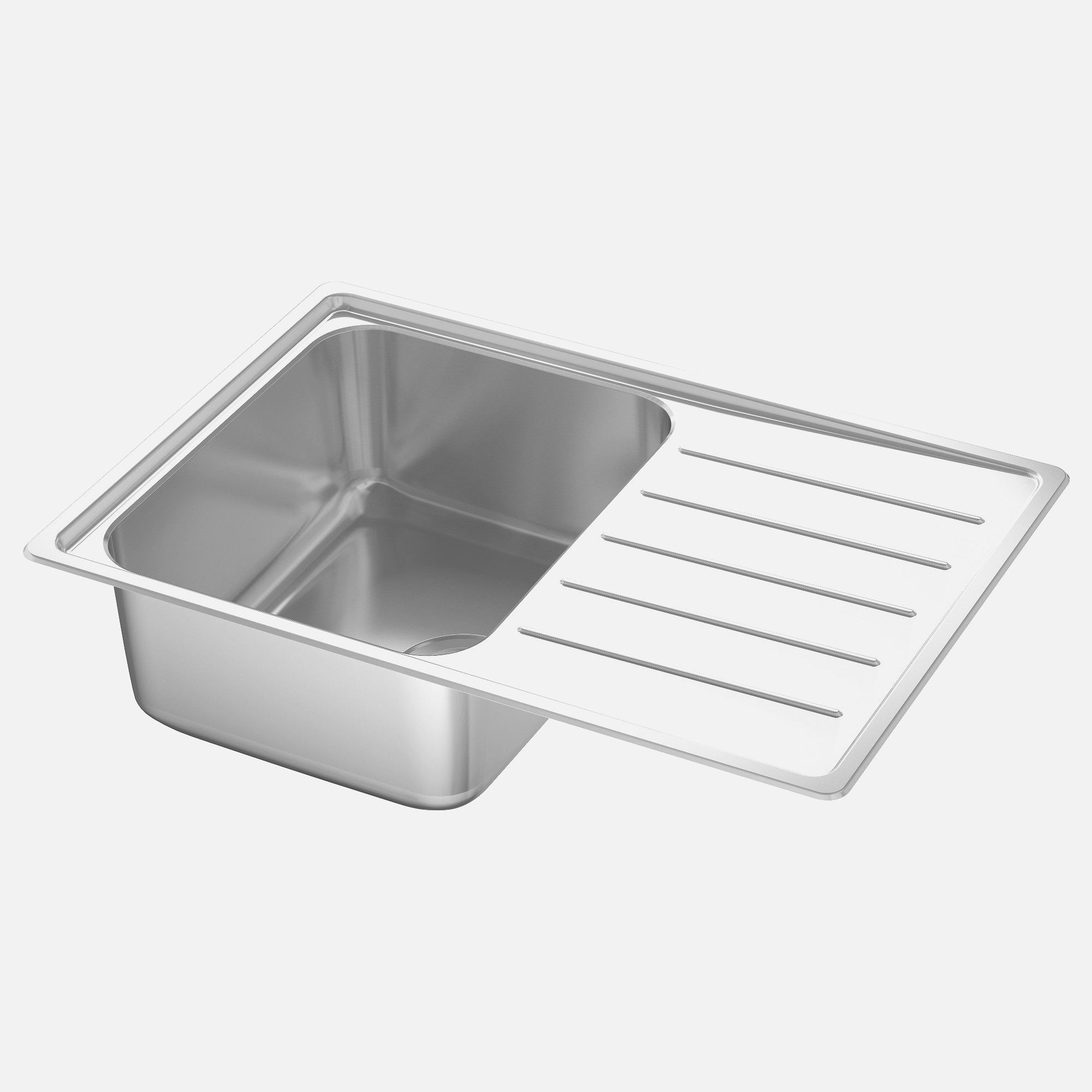 Stainless Steel Kitchen Sink Reviews Sinks Cleaning Drop In For 24