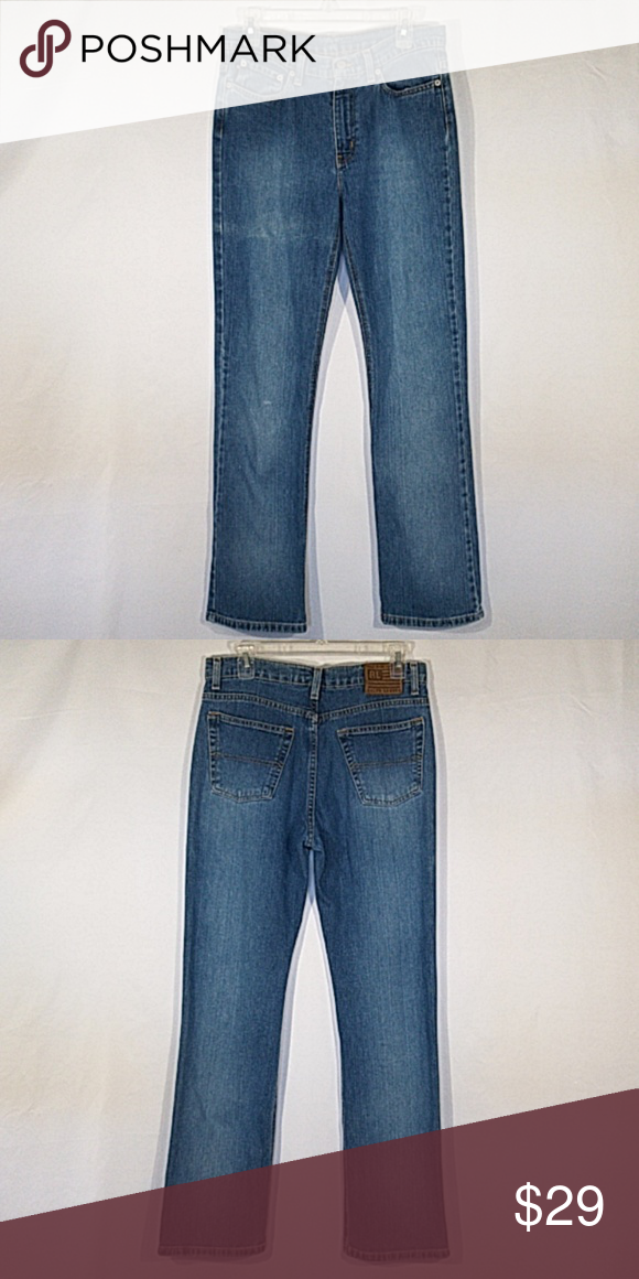 61dadacef Ralph Lauren Boot Cut Mom Jeans Ralph Lauren by Polo Jean Co. These are high