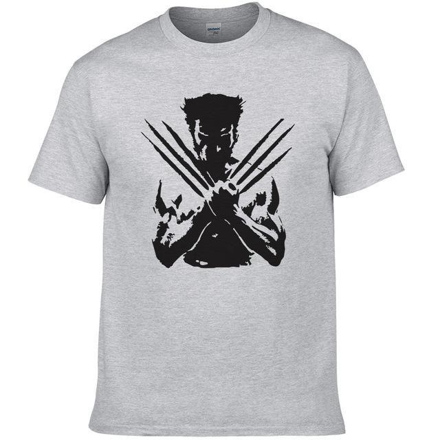 f18793008 Wolverine Unisex T-Shirt Summer Cotton Printed T-Shirt | Clothes ...