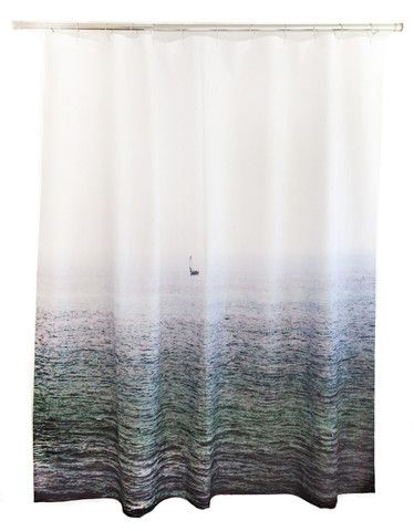 Sailboat Shower Curtain Design By Elise Flashman Designer Shower