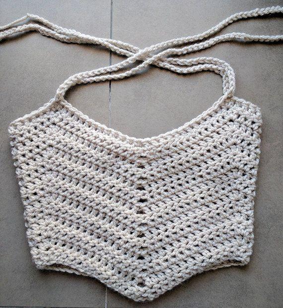 Crochet Crop Top Pattern, Easy Crochet Tank Top Pattern, Boho ...