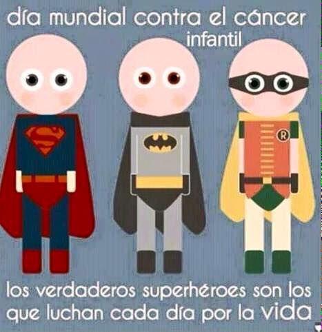 Dia Mundial Contra el Cancer Infantil 15 de Febrero 2015 - Angela Navarro