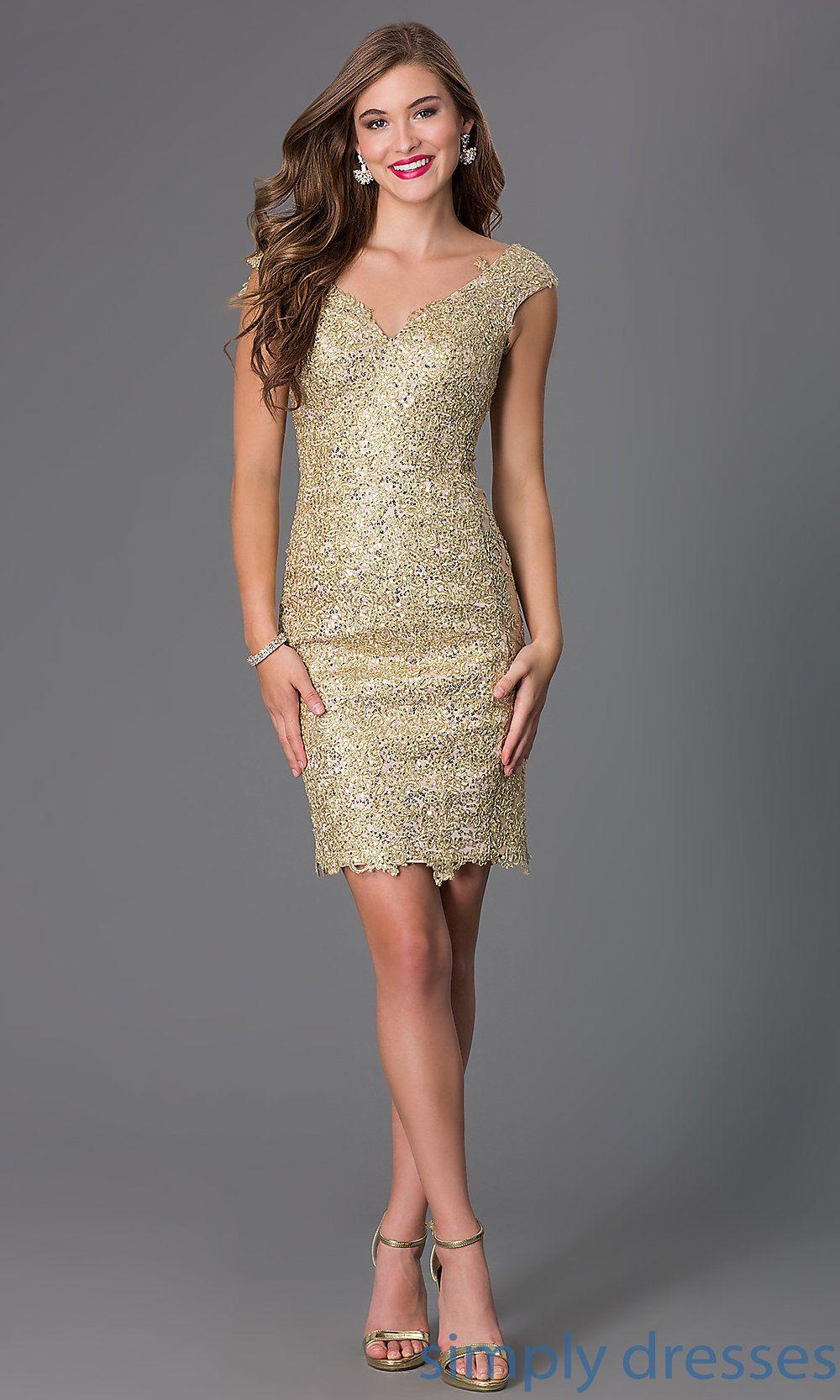 Short V Neck Lace And Sequin Dress Formal Dresses Short Short Dresses Formal Party Dress [ 1666 x 1000 Pixel ]