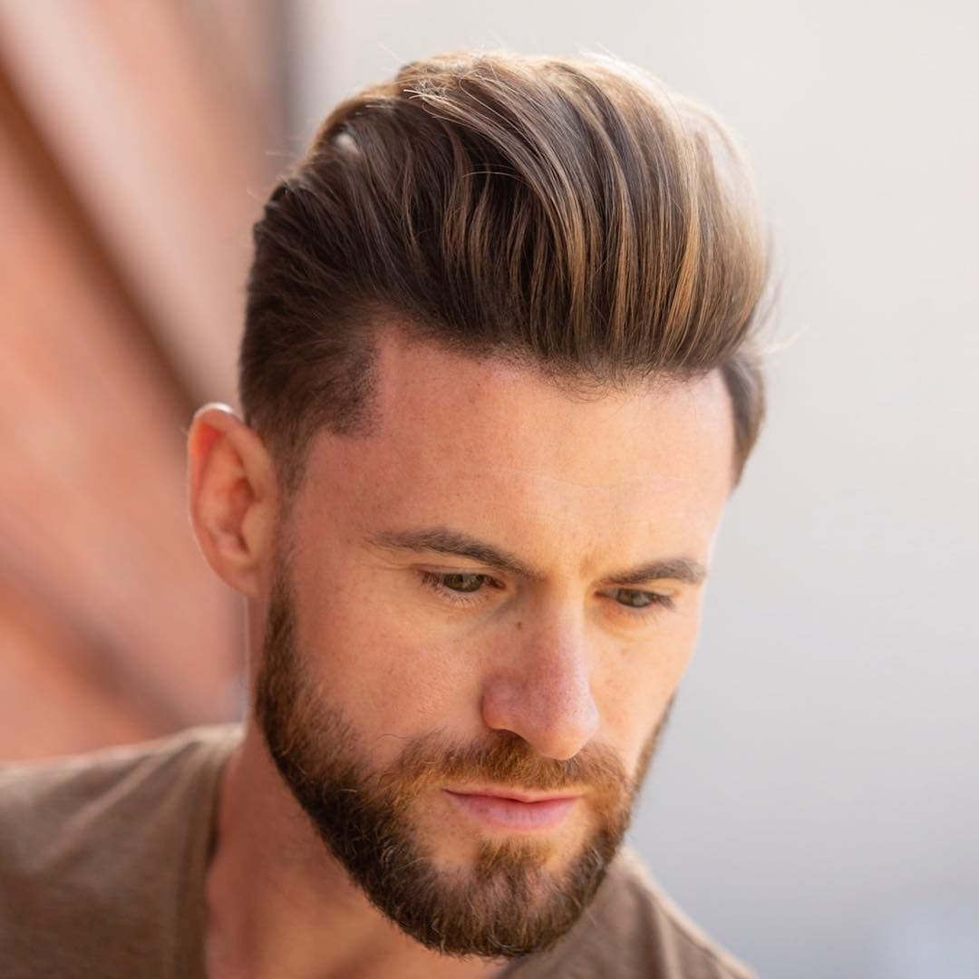 Mens comb over haircut pomp quiff menshairstyles  mens hairstyles  pinterest  hair