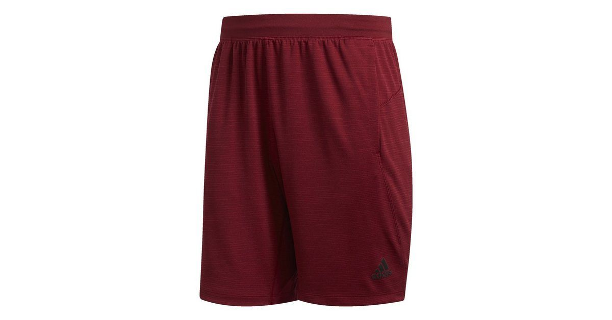 adidas 4krft sport striped heather shorts