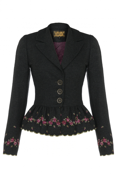 0b929c8270d NN romantic jacket with lovely rose embroidery