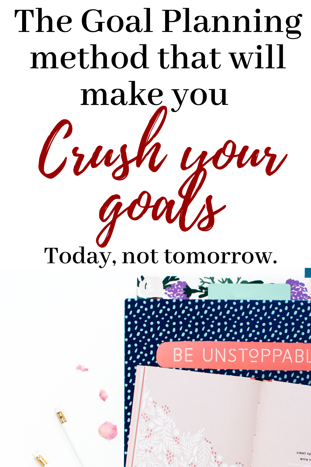 Goal Planning Turn Your Goals Into Actions