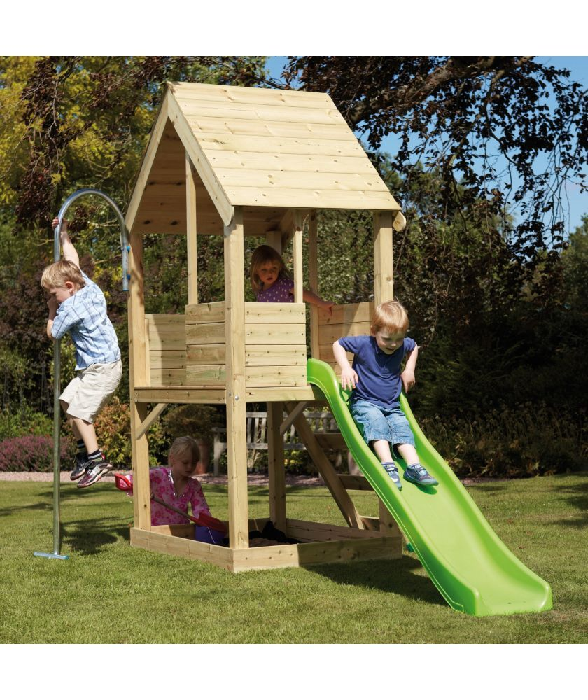 buy tp wooden multiplay playhouse at argos co uk your online