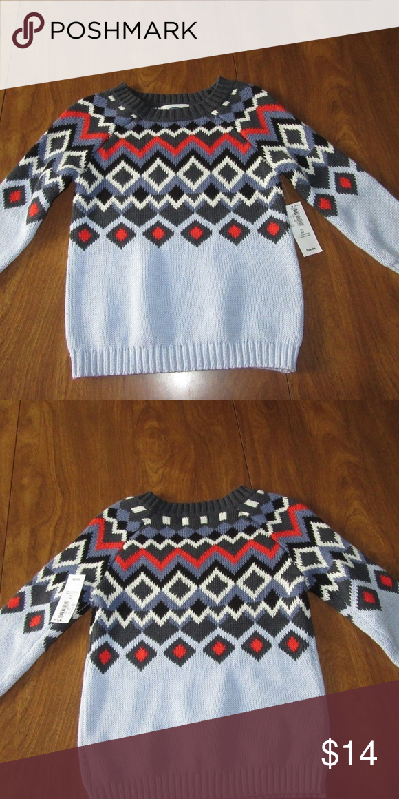 80d655ace Old Navy Baby Boys 12-18 Months Blue Sweater Old Navy Baby Boys 12 ...