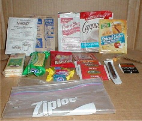 Make your own MRE's