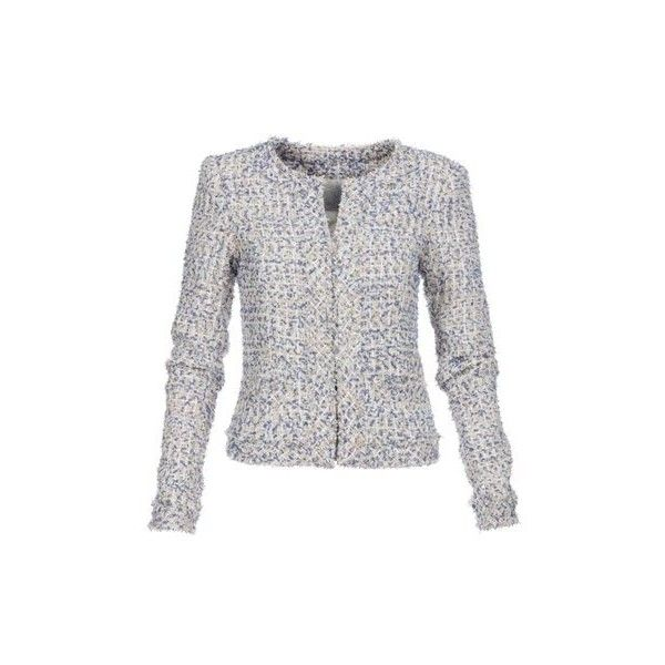 Short jacket (€245) via Polyvore featuring outerwear, jackets, multi colored jacket, short jacket, multi color jacket, sparkle jacket en sequin jacket