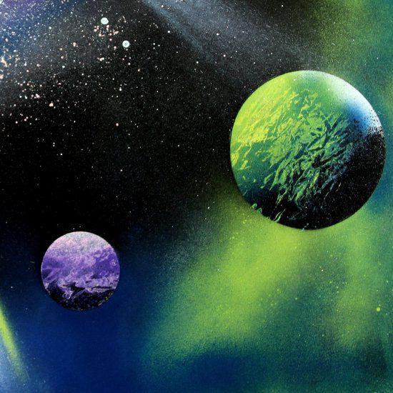 Create A Magical Galaxy Art In 5 Minutes! Super Fun And
