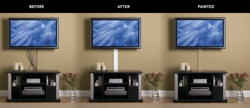How To Hide Tv Cords In Student Housing Business Wire Hidden Tv Hide Tv Wires Living Room Tv Wall