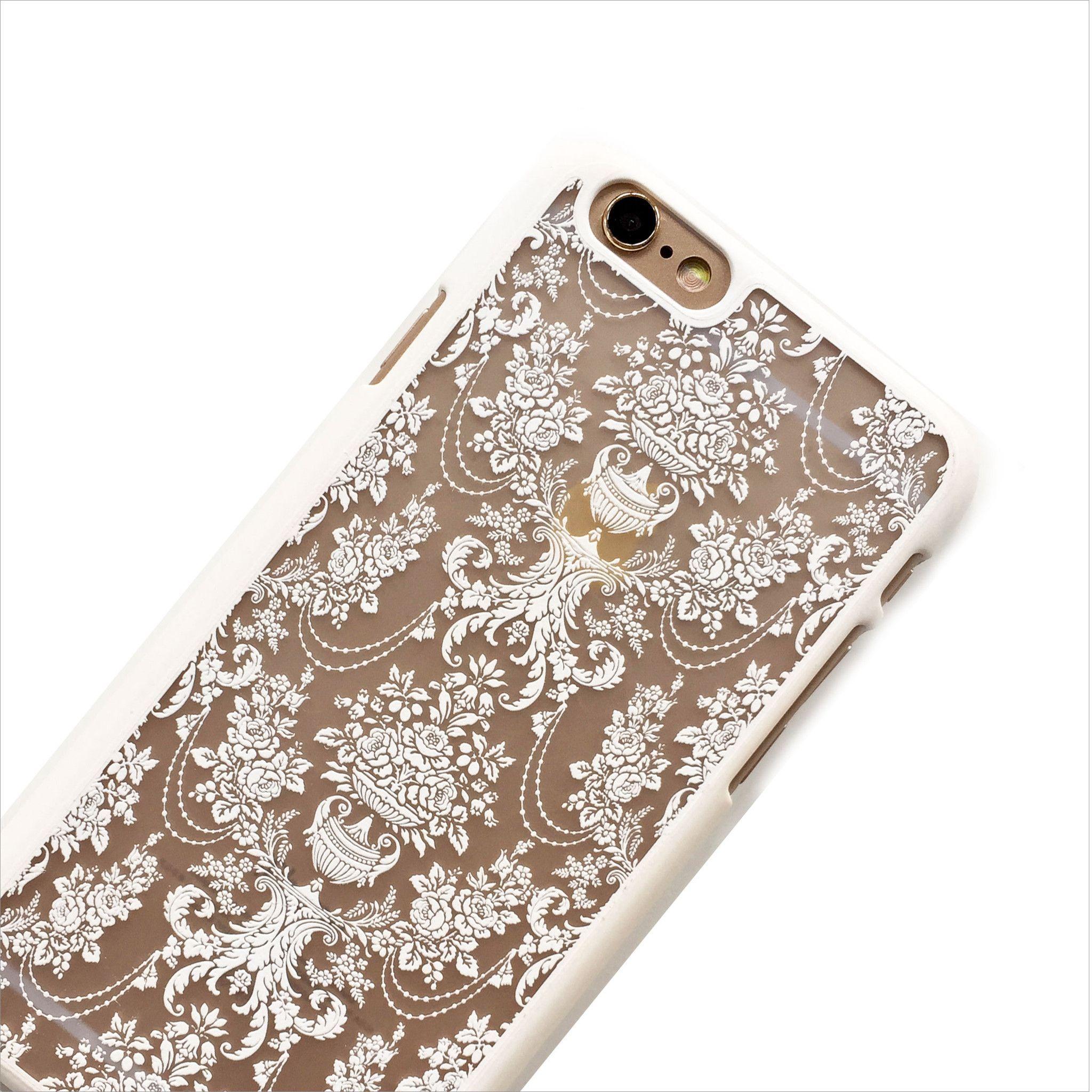 White Chandelier Phone Case