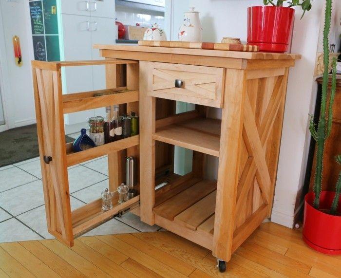 Kücheninsel selber bauen aus Paletten - 31 Modell-Anregungen   Diy ...