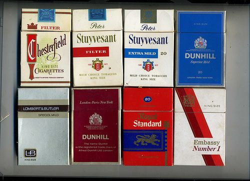 How much is a pack of Dunhill cigarettes in Dublin