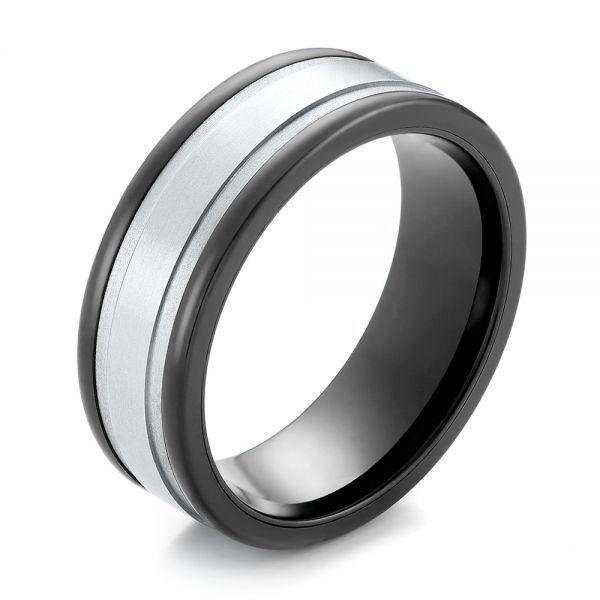 Black Tungsten Ring 104020 Seattle Bellevue Joseph Jewelry In 2020 Black Tungsten Rings Mens Ring Designs White Gold Rings