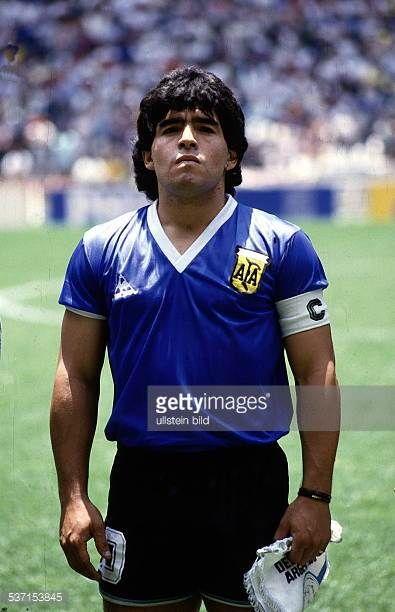 1986 Fifa World Cup In Mexico Armando Diego Maradona Football Player Argentina Member Of The National Team Maradona As Diego Maradona Football Boys Football