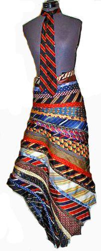 Horizontal Tie skirt
