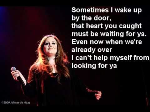 Adele Set Fire To The Rain Paroles Music Book Music Love
