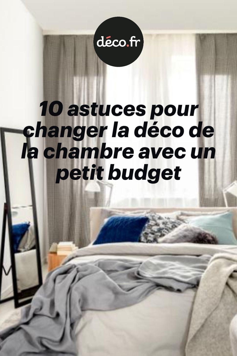 18 astuces pour changer la déco de la chambre avec un petit budget