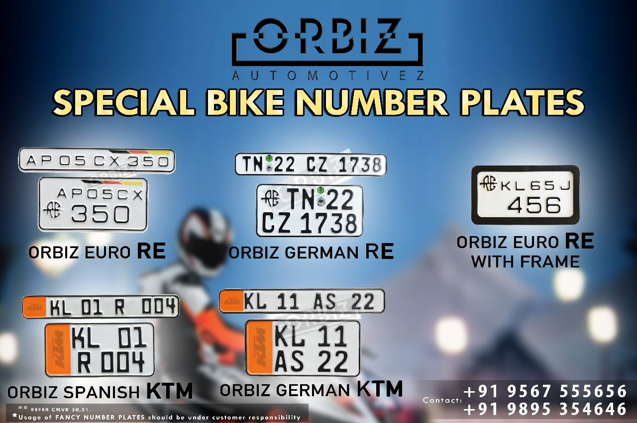 Pin By Orbiz Number Plates On Car Number Plates Designs Number