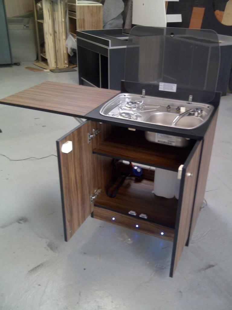 Small kitchen unit for campervan campervan dreams for Camper van kitchen units