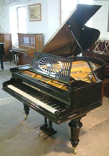A 1910, Bechstein Model A grand piano with a black case and turned legs at  Besbrode Pianos | Piano for sale, Piano, Grand piano
