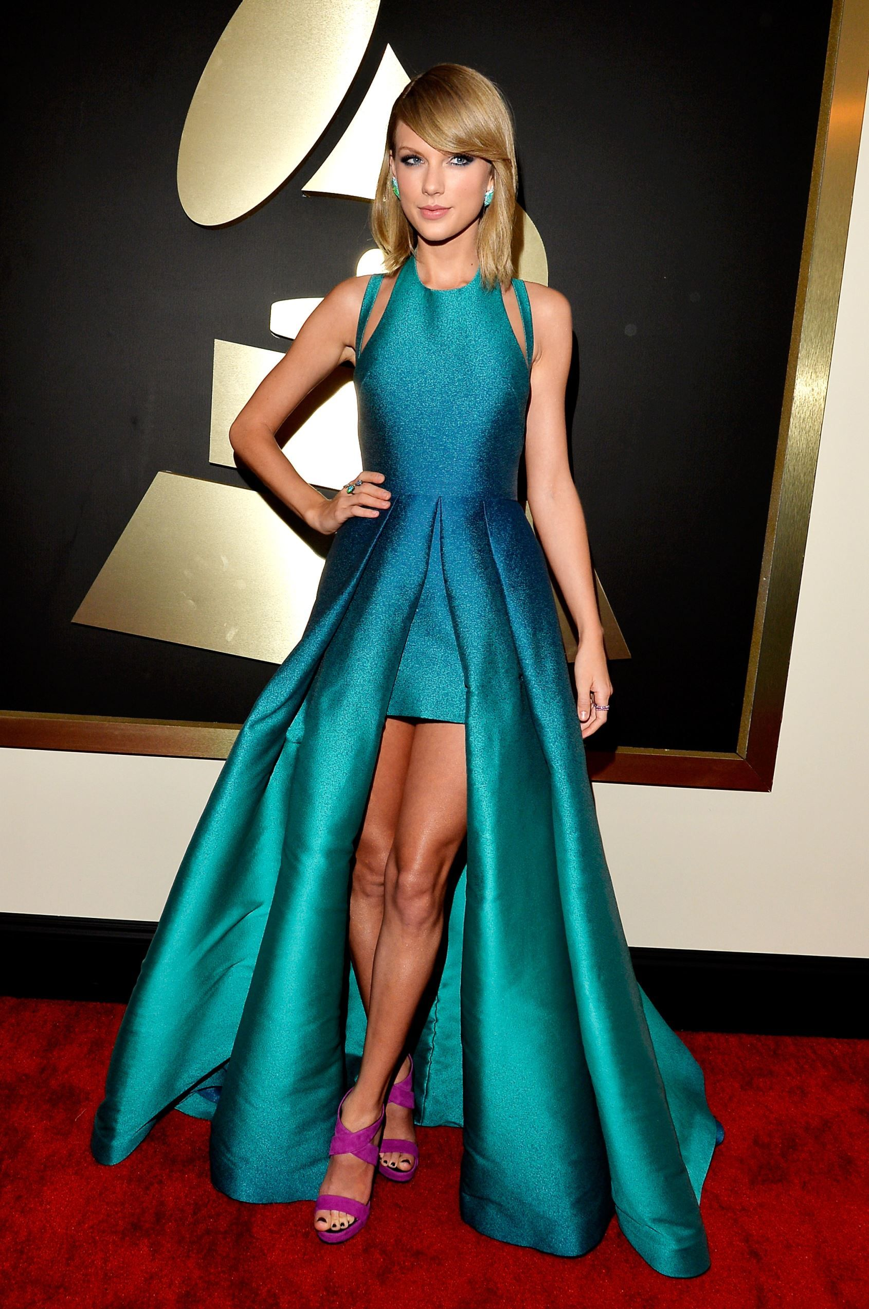 Taylor Swift Roter Teppich Fashion Hits And Misses From The 2015 Grammy Awards