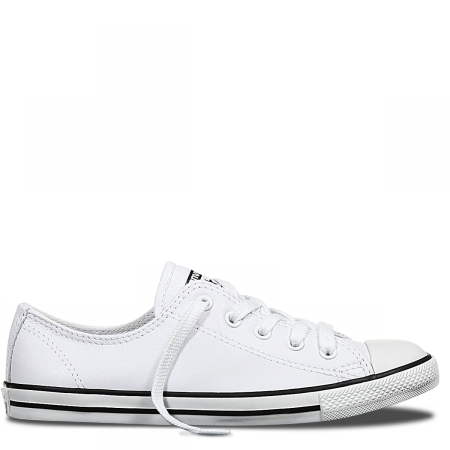 cc52ca01667338 Chuck Taylor All Star Dainty Leather Low Top White
