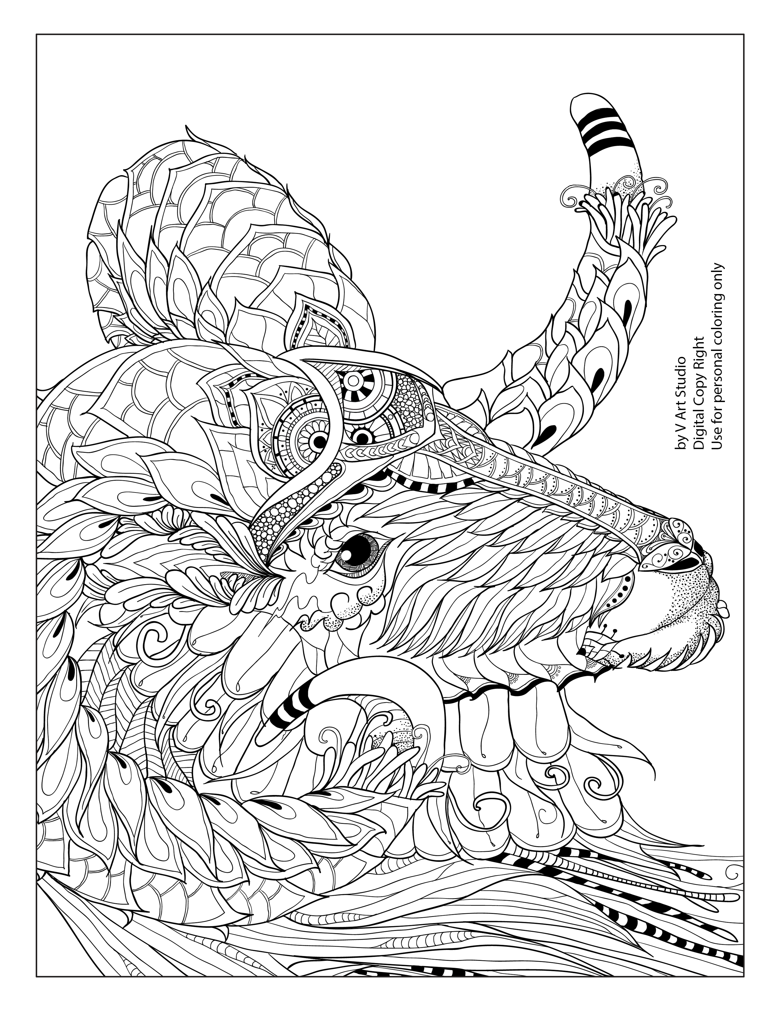 - Free Sample Coloring Page From Big Horn Collection Coloring Book