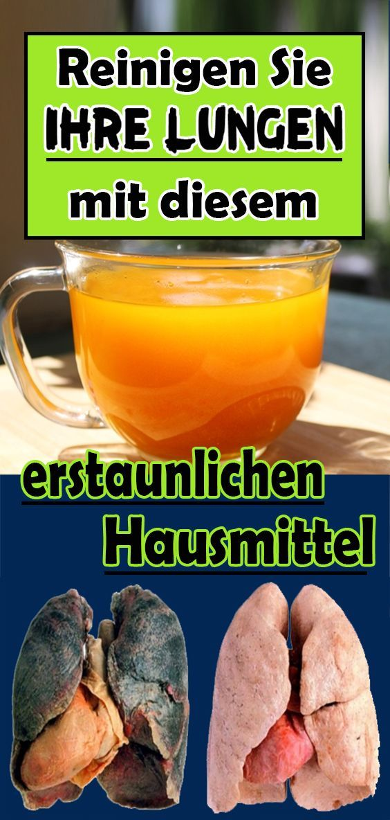 Especially for smokers: clean your lungs with this amazing home remedy   - Gesundheit und fitness -...