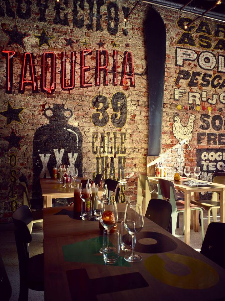 Taqueria restaurant at the paleet shopping center oslo