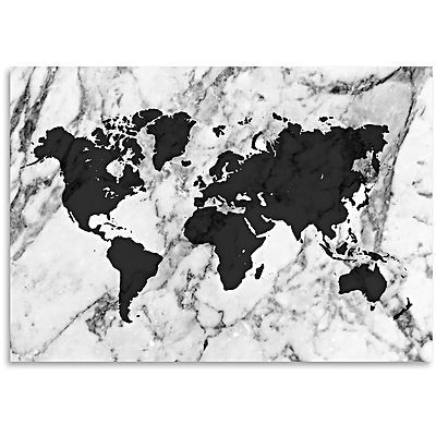 Marble world map print art grey art pinterest marbles gray marble world map print art grey gumiabroncs Image collections