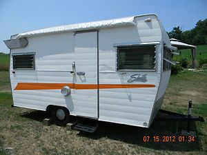 1965 1966 1967 Shasta Travel Trailer Vintage Camper NICE NO